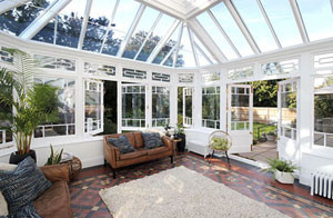 Interior of the new conservatory