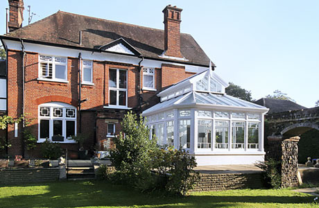 The new conservatory