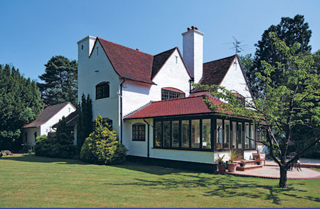 The house with the garden room