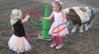 Playing at the Pony Party