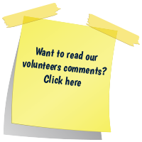Volunteer comments