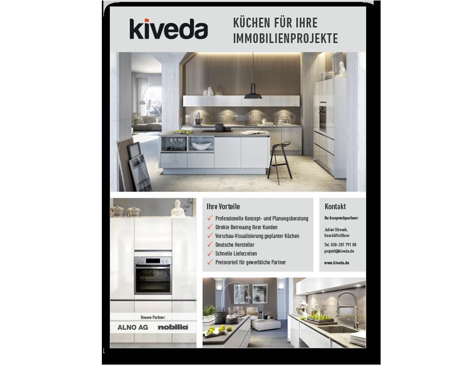 Kiveda Küchen flyer für kiveda küchen