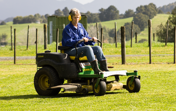 We offer Ride on Mowing Services