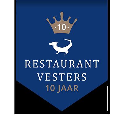 Restaurant Vesters 10 jaar