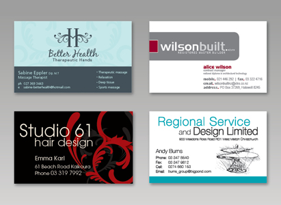 Business cards copyprint digital printing riccarton at copyprint were geared up to print everything from a single colour card through to a full colour double sided cards on premium board with embossing reheart Gallery