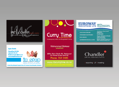 Business cards copyprint digital printing riccarton at copyprint were geared up to print everything from a single colour card through to a full colour double sided cards on premium board with embossing reheart Images