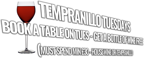 Tempranillo Tuesdays