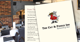 Cat & Fiddle Main Menu 2015