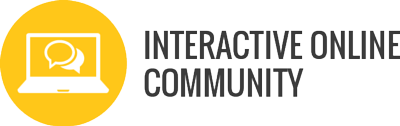 interactive online portal connecting course participants