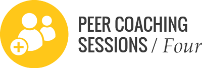 4 peer coaching session for program participants