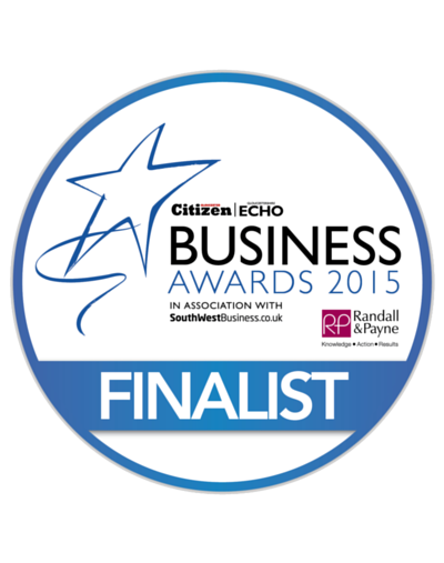 Finalist 2015 Gloucestershire Business Awards