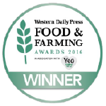 2016 Winner Western Daily Press Food and Farming Award