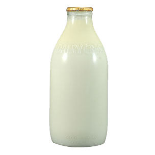Glass Bottle Milk