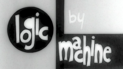 LOGIC BY MACHINE LOGO BY MACHINE