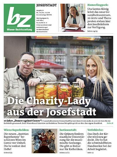 Wiener Bezirkszeitung berichtet über Gesundheitszentrum am Hamerlingpark