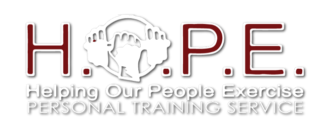 Helping Our People Exercise Logo
