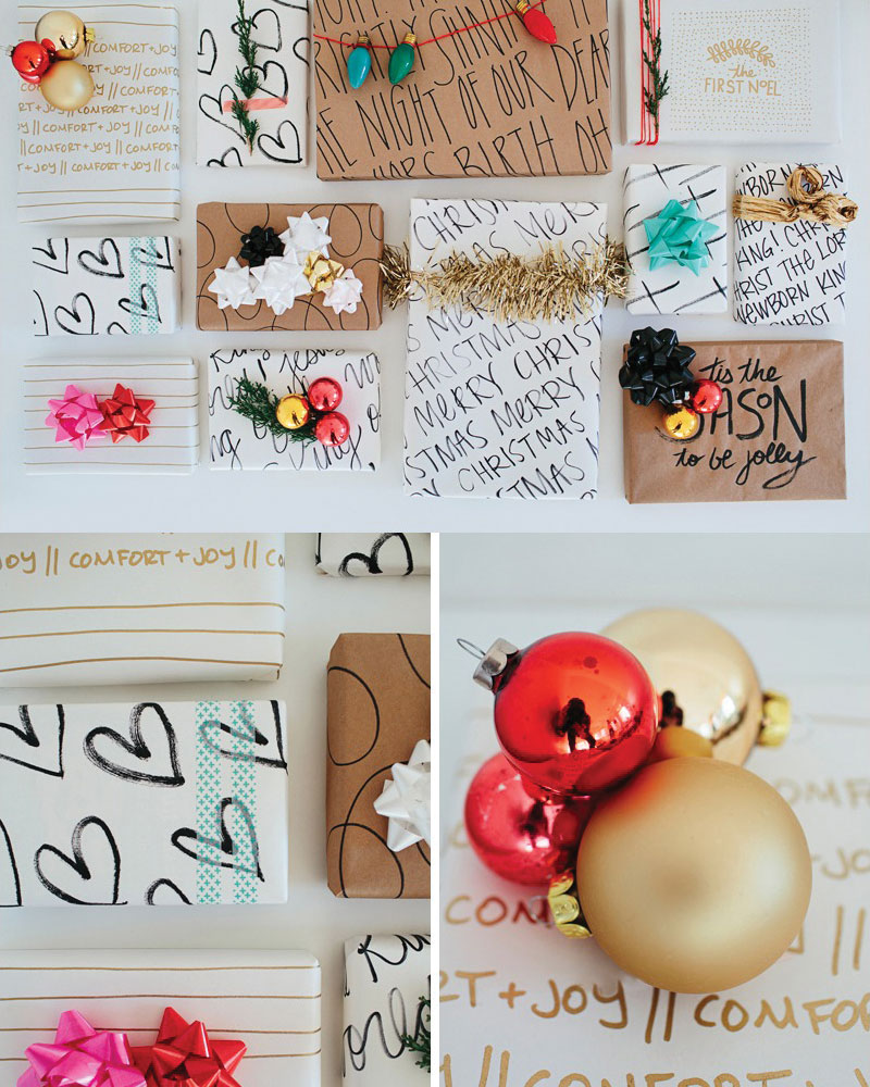 Walk In Love Holiday DIY Wrapping