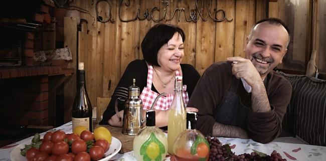 Milou en Enrico Russo van 'A Cucinella.nl