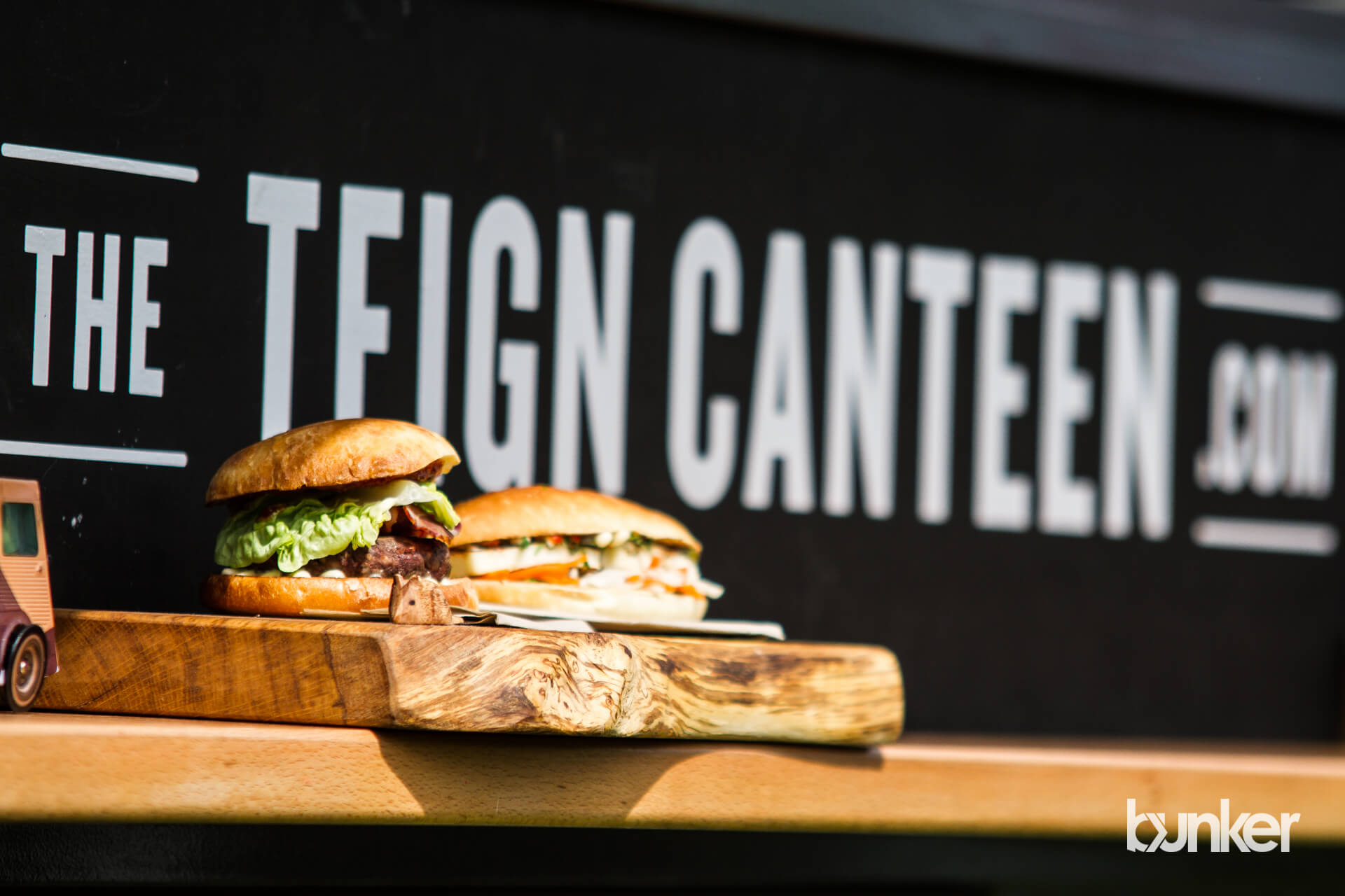 One of a kind food truck, The Teign Canteen