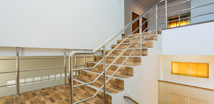 Stainless Steel Balustrade: Material of Choice for Home and Office Decoration