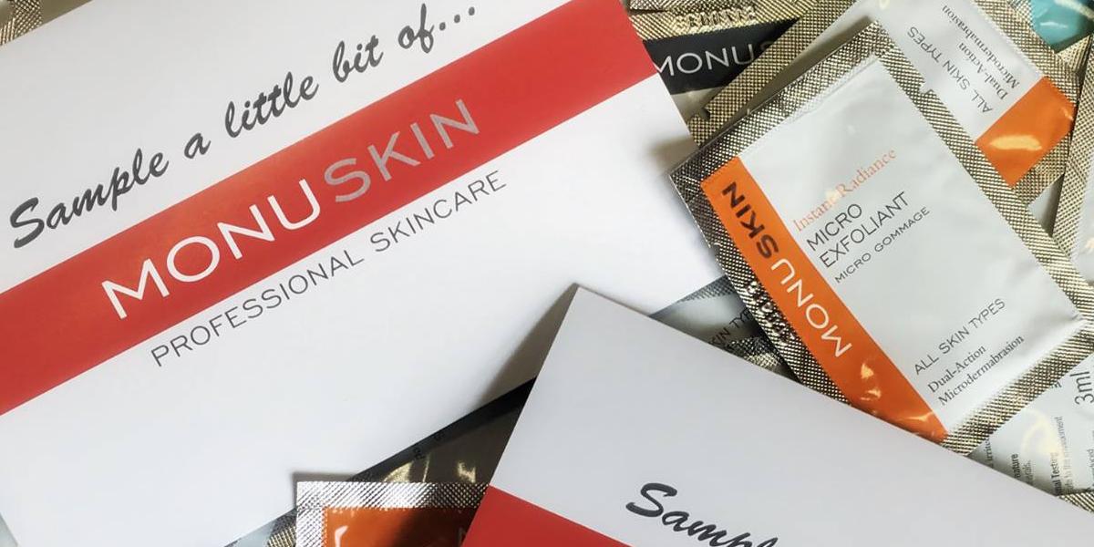 Receive a FREE Sample of Monu Skincare