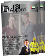 TSI Apparel Uniform Catalogue| TSI Apparel | Uniforms Manufacturing in UAE | Dubai Sharjah Abu Dhabi Ajman