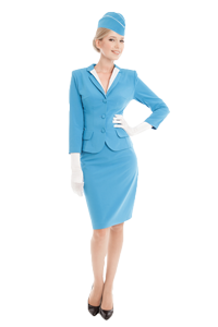 Air Hostess - Hospitality Uniform | TSI Apparel