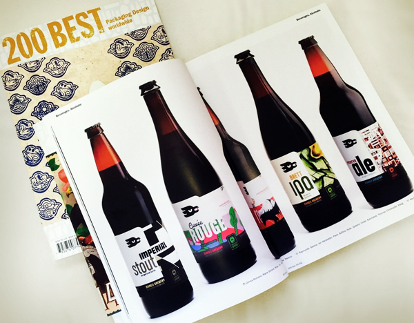 Lürzers Archive 200 Best Packaging Worldwide Annual Marble Brewery  Special beer label designs  street art murals Ripe Inc.