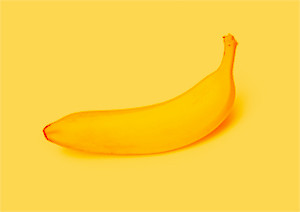 design a la carte, single ripe banana