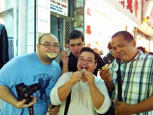 Red Bean Pastry - Kowloon Food Tour