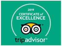 Tripadvsior Certificate of Excellence - EA Food Tours