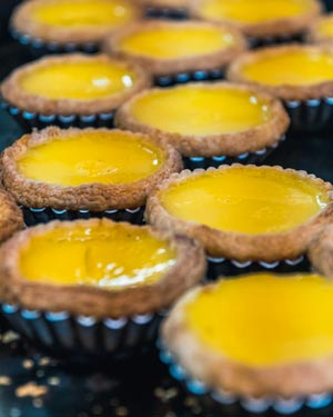 Egg Tart - Kowloon Food Tour