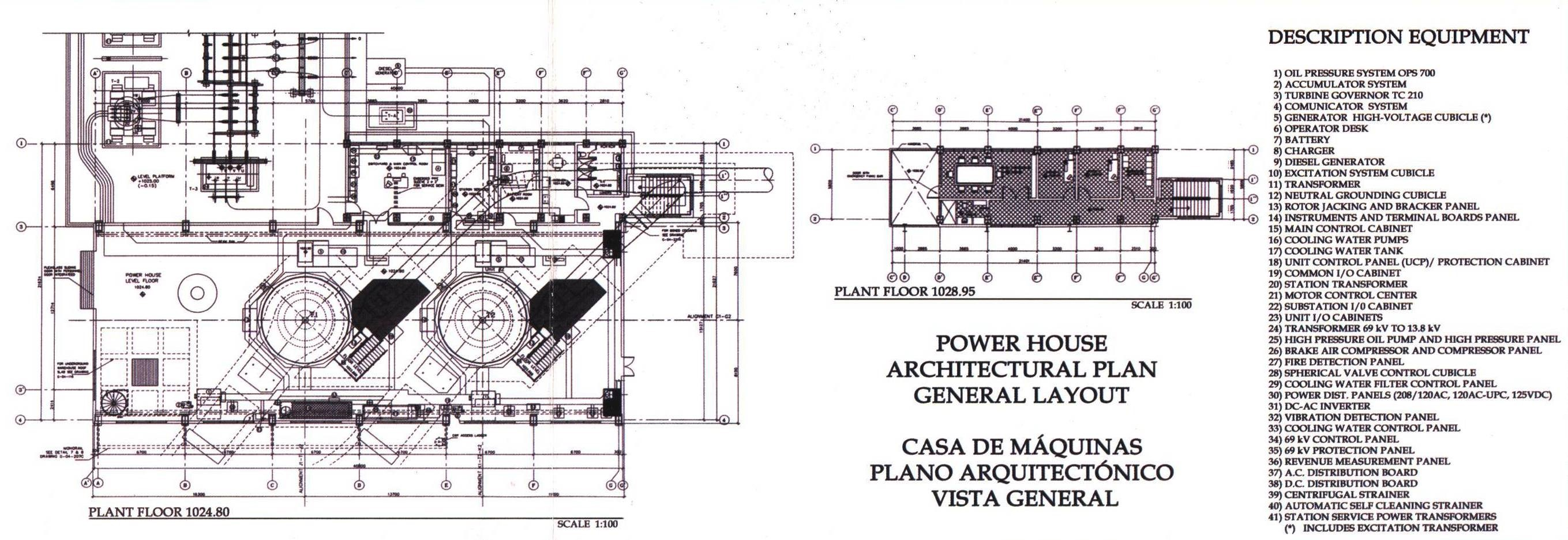 El Canada Power Plant Engineering Layout