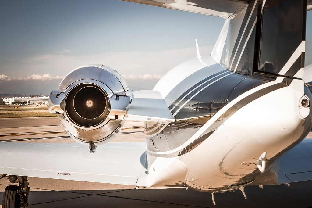jet charter private plan