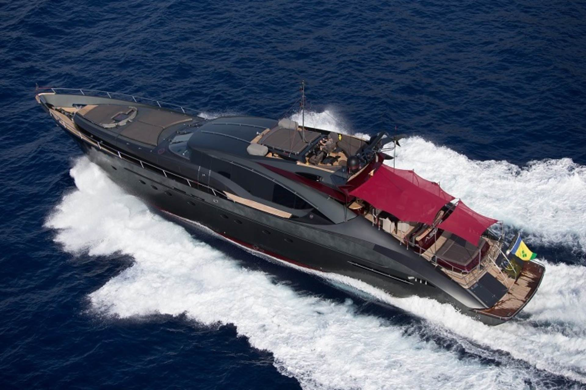 PRIVATE PLAN Palmer Johnson 150 yacht charter