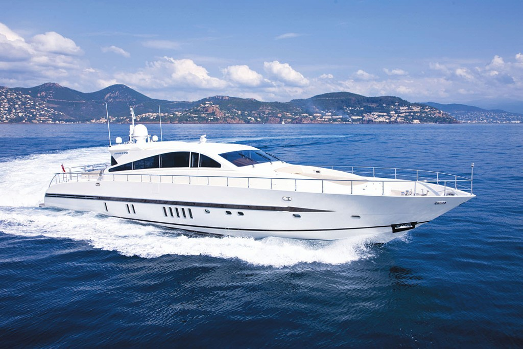 PRIVATE PLAN Leopard Caramia yacht charter