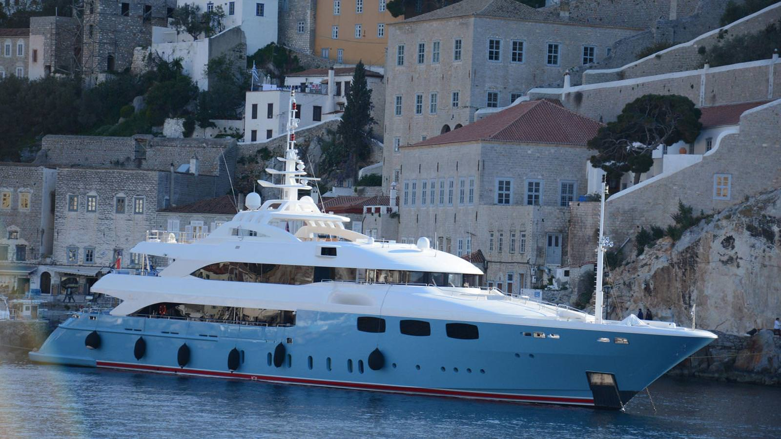 PRIVATE PLAN Mia Rama yacht charter