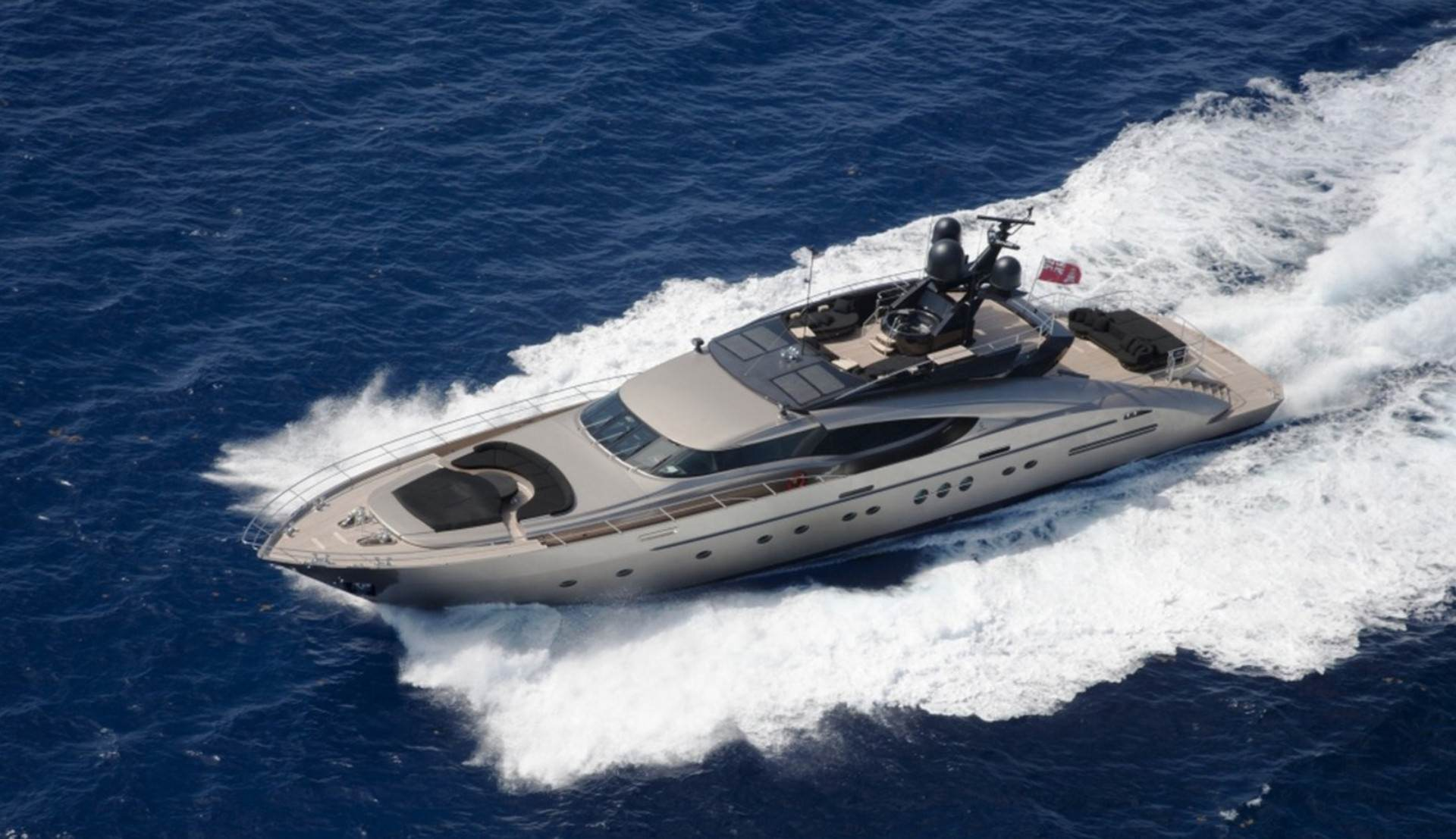 PRIVATE PLAN Palmer Johnson 135 Griffin yacht charter