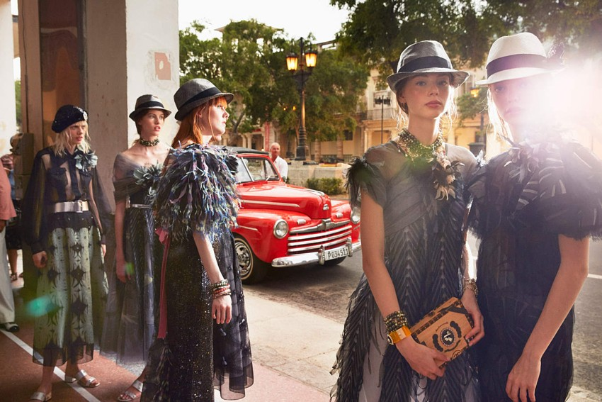 Chanel Cruise Collection Cuba