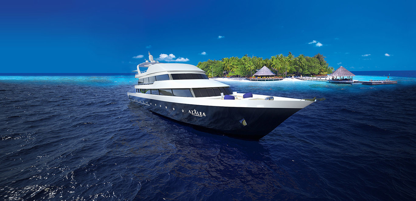PRIVATE PLAN Azalea yacht charter