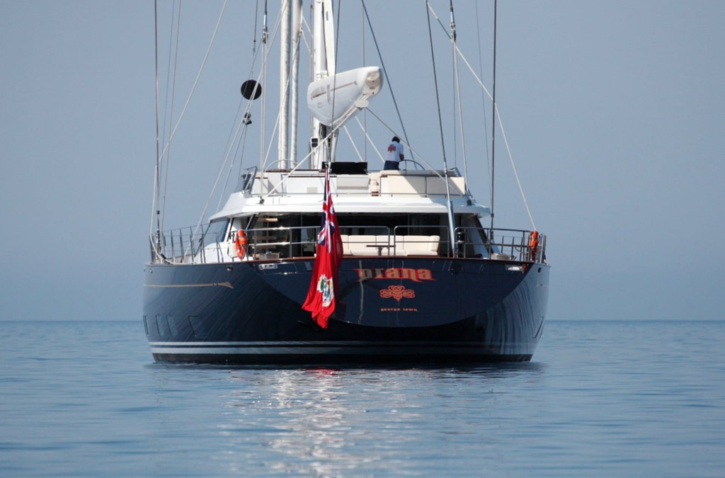 PRIVATE PLAN Alloy Prana yacht charter