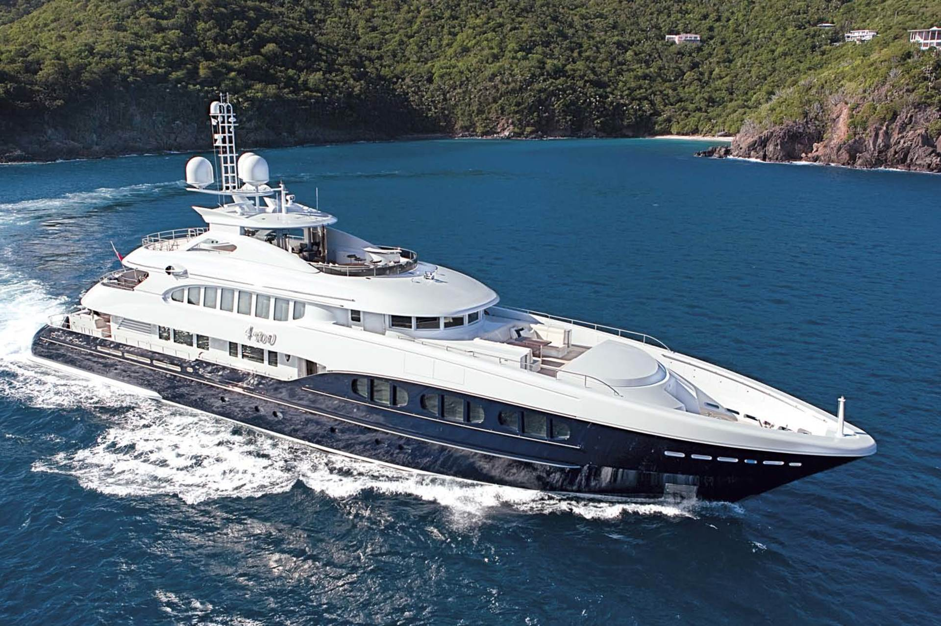 PRIVATE PLAN Heesen 4YOU yacht charter