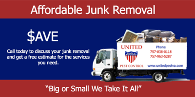 Junk Removal - United Pest COntrol