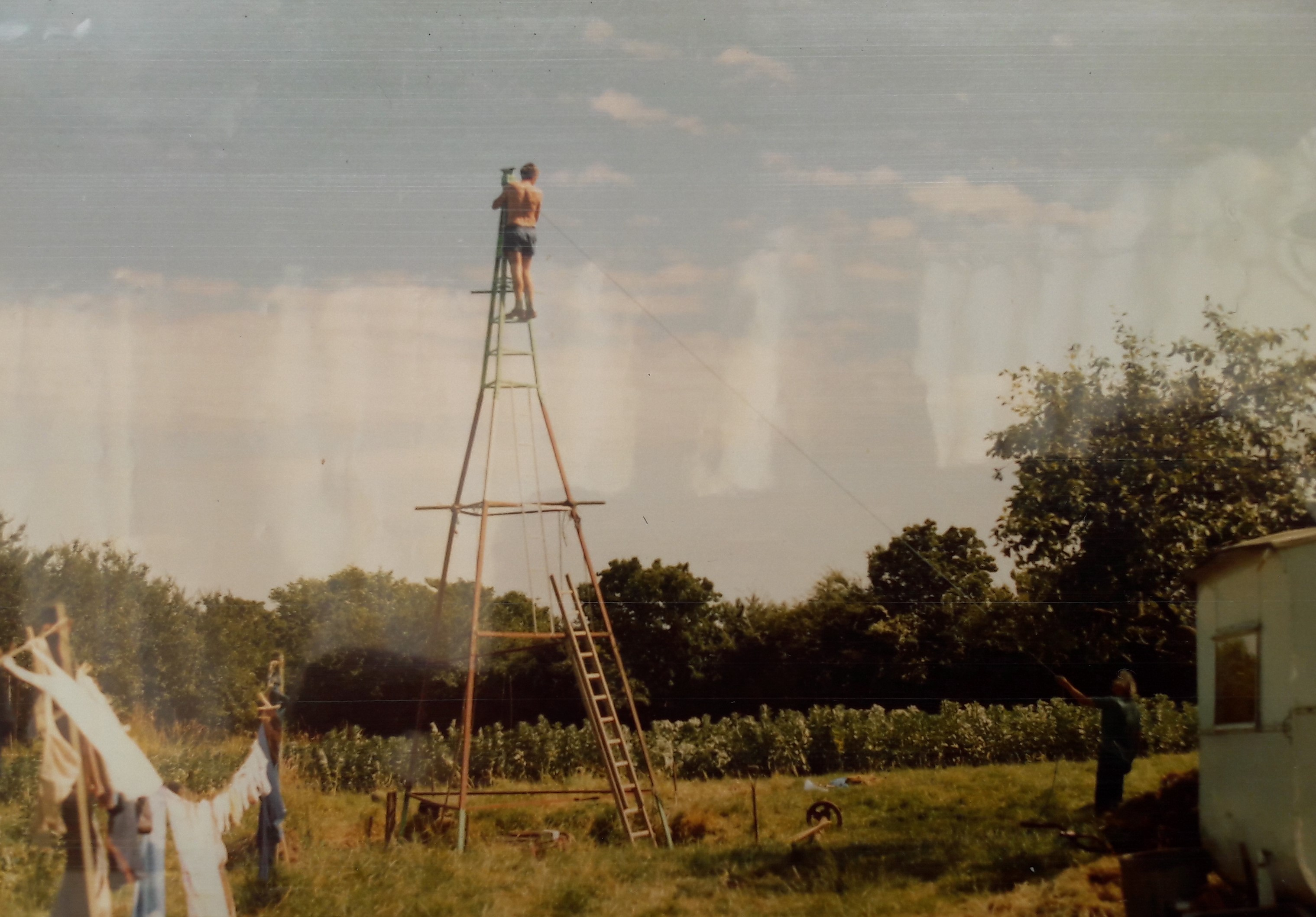 Building the windmill